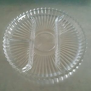 Other - Glass separated serving dish